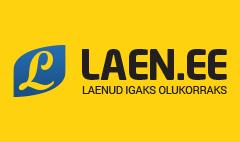 Laen pakub laenu €3000 - €10 000 perioodiga 6 kuni 60 kuud. Isiku tuvastamine internetis.