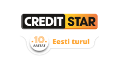 Creditstar personaalne laenukonto €50 kuni €2000.