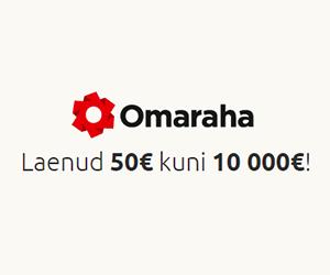 Tagatiseta laen erasikutelt: €50 kuni €5000.